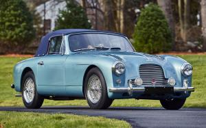 Aston Martin DB2/4 Drophead Coupe by Mulliner 1955 года