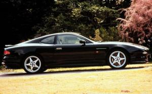 Aston Martin DB7 Driving Dynamics 1997 года