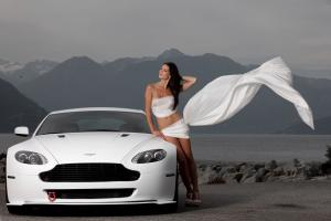 Aston Martin V8 Vantage Hellvellyn Frost by MW Design 2009 года