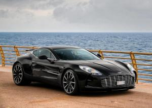 Aston Martin One-77 in Monaco 2012 года