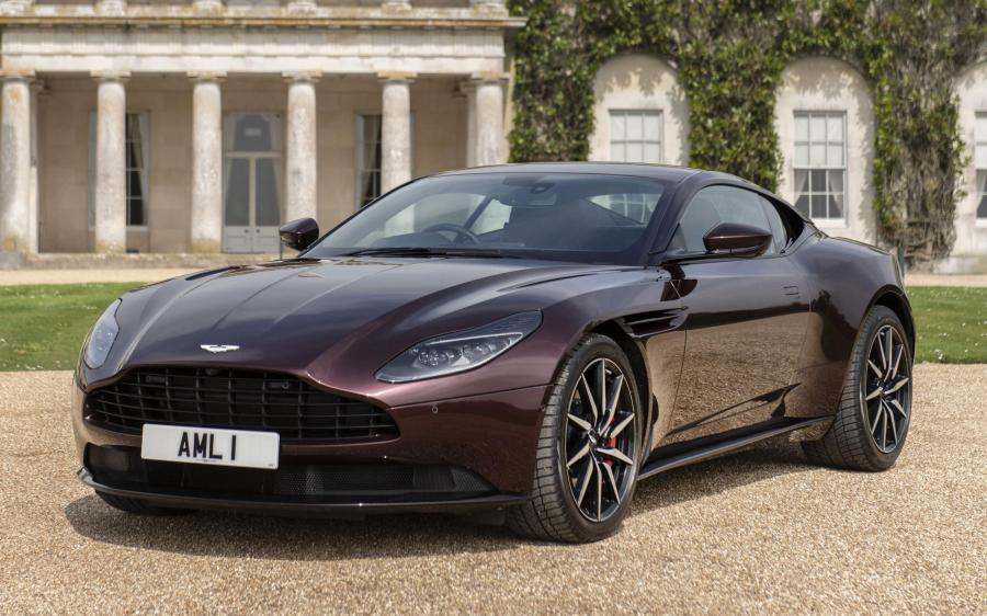 2017 Aston Martin DB11 V8 (UK)