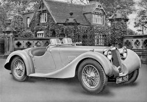 1937 Atalanta Sports Tourer by Abbott