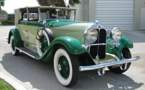 Auburn 8-120 Convertible Sedan 1929 года