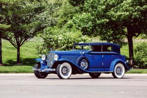 1932 Auburn 12-160A Custom Dual Ratio Phaeton Sedan