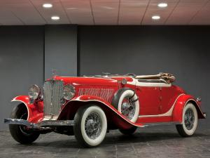 1933 Auburn 12-161A Custom Dual Ratio Convertible Coupe