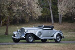 1934 Auburn V12 1250 Salon Dual Ratio Convertible