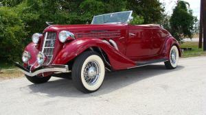 Auburn 851 Supercharged Cabriolet 1935 года