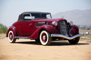 1935 Auburn 851 Supercharged Dual Ratio Cabriolet