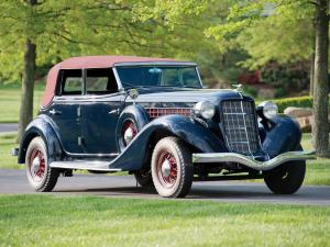 Auburn 851 Supercharged Dual Ratio Phaeton Sedan