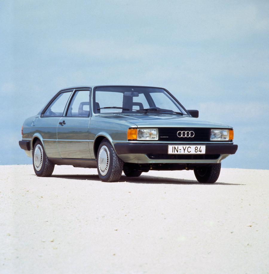 Audi 80 2-Door в кузове B2, выпускаемого с 1981 года по ...