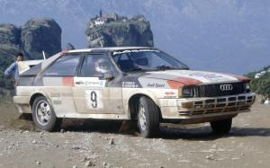 Audi Quattro Group 4 Rally Car 1981 года