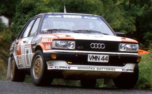Audi 80 Quattro Rally Car 1983 года