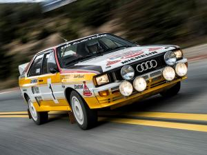 1983 Audi Quattro Group B Rally Car