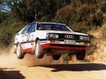 Audi Coupe Quattro Rally Car 1985 года