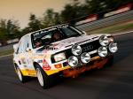 Audi Sport Quattro Group B Rally Car 1985 года