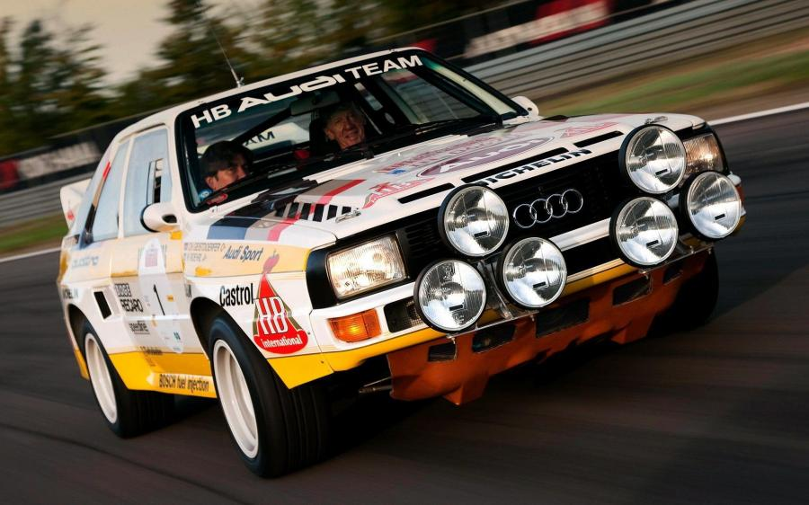 Audi Sport Quattro Group B Rally Car '1985 - 86