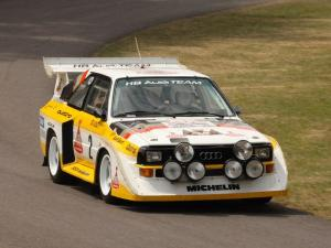 1985 Audi Sport Quattro S1 Group B Rally Car