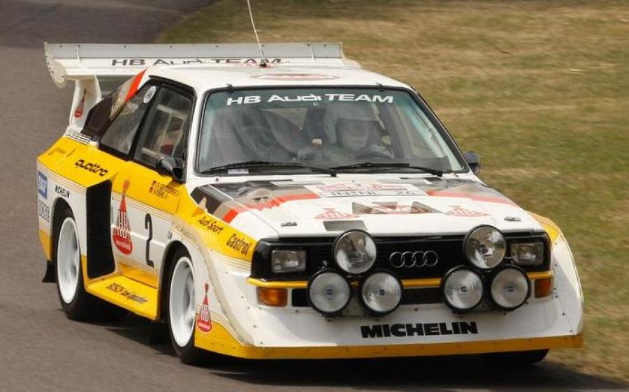 Audi Sport Quattro S1 Group B Rally Car '1985 - 86