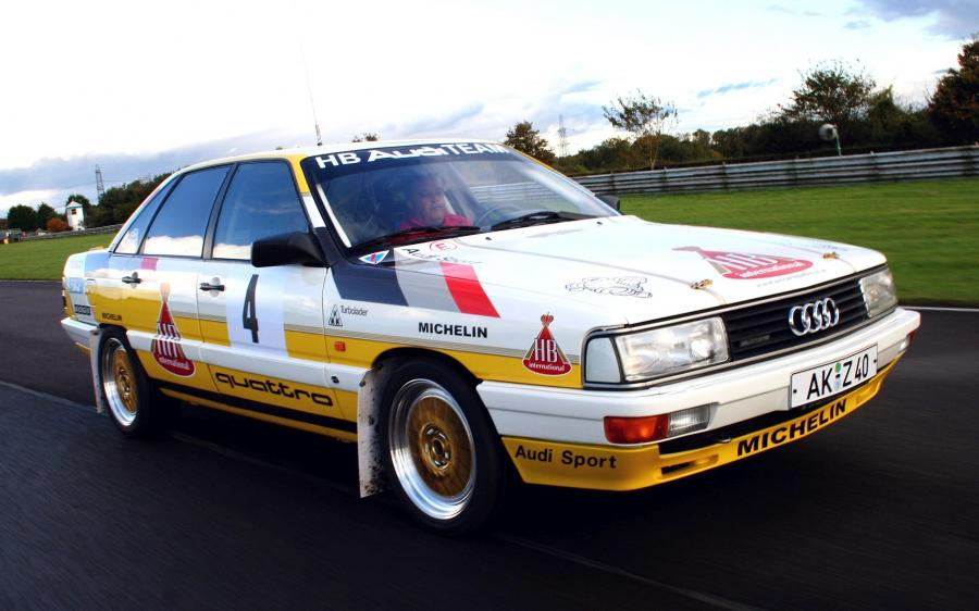 Audi 200 Quattro Group A Rally Car