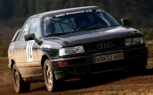 1989 Audi 90 Quattro Rally Car