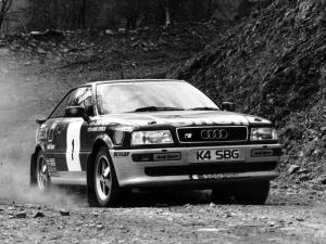 1993 Audi S2 Coupe Group N Rally Car