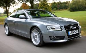 Audi A5 Coupe 3.2 2007 года (UK)