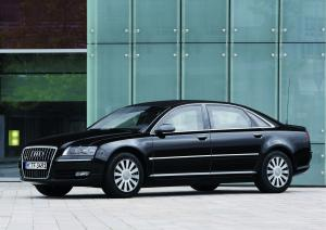 2008 Audi A8 L W12 Security