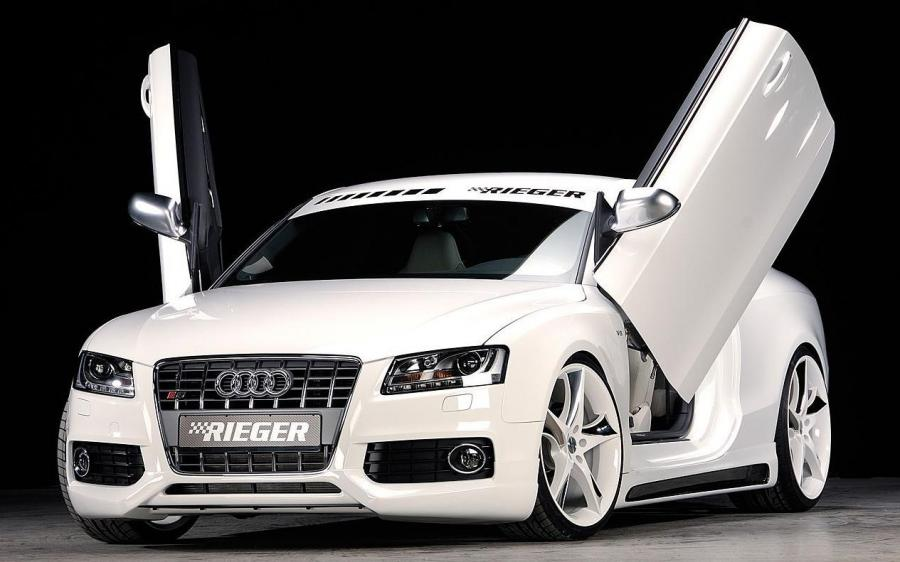Audi S5 Coupe by Rieger '2008