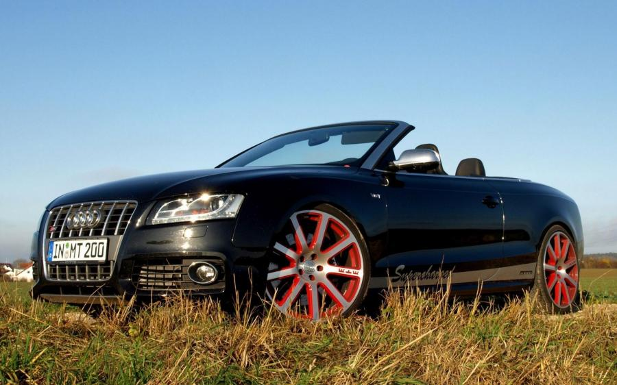 Audi S5 Cabriolet Supercharged by MTM '2009