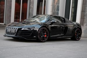 Audi R8 V10 Hyper-Black Edition by Anderson Germany 2011 года
