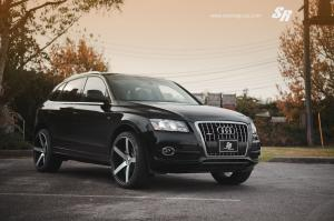 Audi Q5 3.2 Quattro S-Line by SR Auto Group on Vossen Wheels (CV3) 2012 года