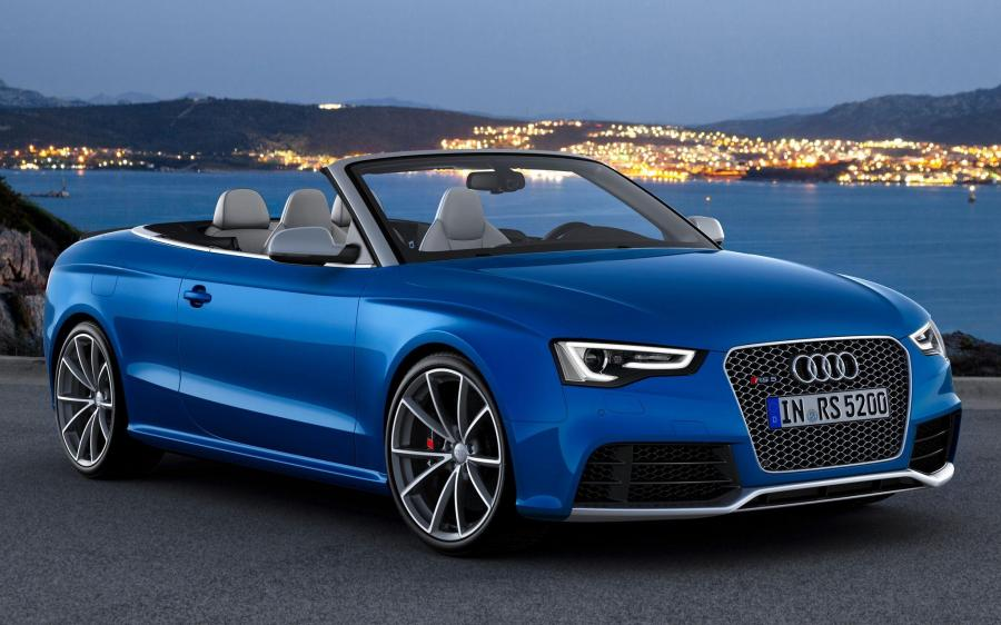 Audi RS5 Cabriolet (WW) '2012 - 17