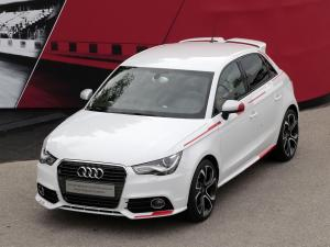 Audi A1 Sportback Competition Kit R18 Red + 2013 года