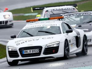 Audi R8 V10 Plus Safety Car 2013 года