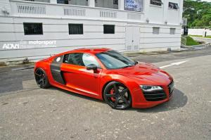 Audi R8 V10 by KBS Motorsport and ADV.1 Wheels 2014 года