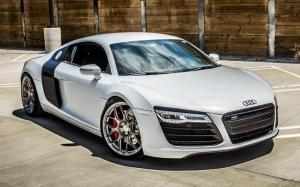 Audi R8 V10 by TAG Motorsports on HRE Wheels 2014 года