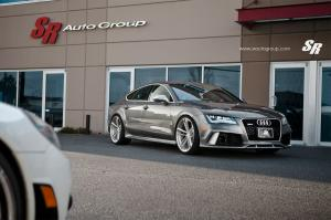 Audi RS7 Sportback by SR Auto Group on PUR Wheels 2014 года