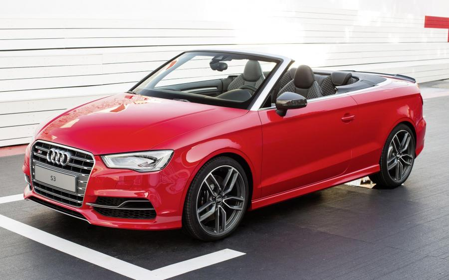 Audi S3 Cabriolet with Audi Genuine Accessories (8V) (WW) '2014 - 16