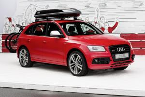 2014 Audi SQ5 TDI with Audi Genuine Accessories