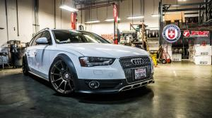 Audi A4 Allroad 2.0 TFSI Quattro by TAG Motorsports on HRE Wheels 2015 года