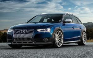 Audi A4 Allroad on Vorsteiner Wheels (V-FF 102) 2015 года