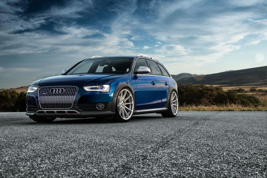 Audi A4 Allroad on Vorsteiner Wheels (V-FF 102)