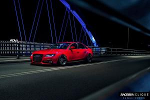 Audi A4 Sedan Widebody by Best Performance Poland on ADV.1 Wheels (ADV5.0TFCS) 2015 года