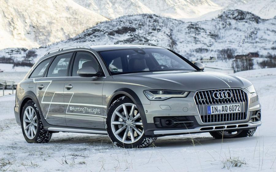Audi A6 Allroad Quattro #HuntingTheLight Concept (4G, C7) '2015