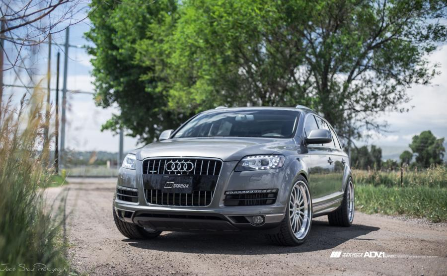 Audi Q7 TDI by 3Zero3 Motorsports on ADV.1 Wheels (ADV15TF)
