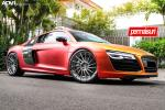 Audi R8 V10 by Permaisuri on ADV.1 Wheels (ADV15R MV2) 2015 года
