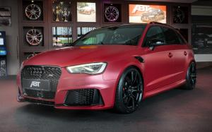 Audi RS3 Sportback Red by ABT 2015 года