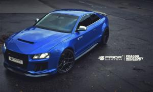 Audi RS5 Coupe PDA500 Widebody by Prior Design 2015 года