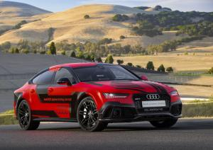 2015 Audi RS7 Sportback Piloted Driving Concept