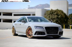 Audi RS7 Sportback by TAG Motorsports on Vossen Wheels (LC-104) 2016 года